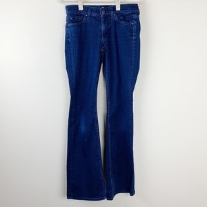 7FAM 7 For All Mankind Dark Wash Bootcut Size 27